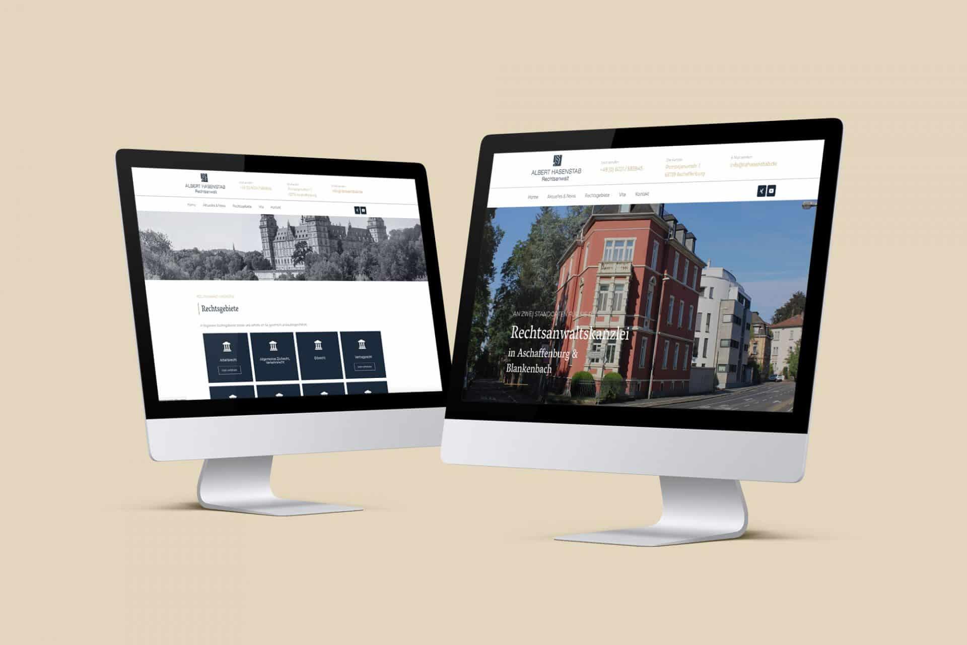 Webdesign, responsiv und modern