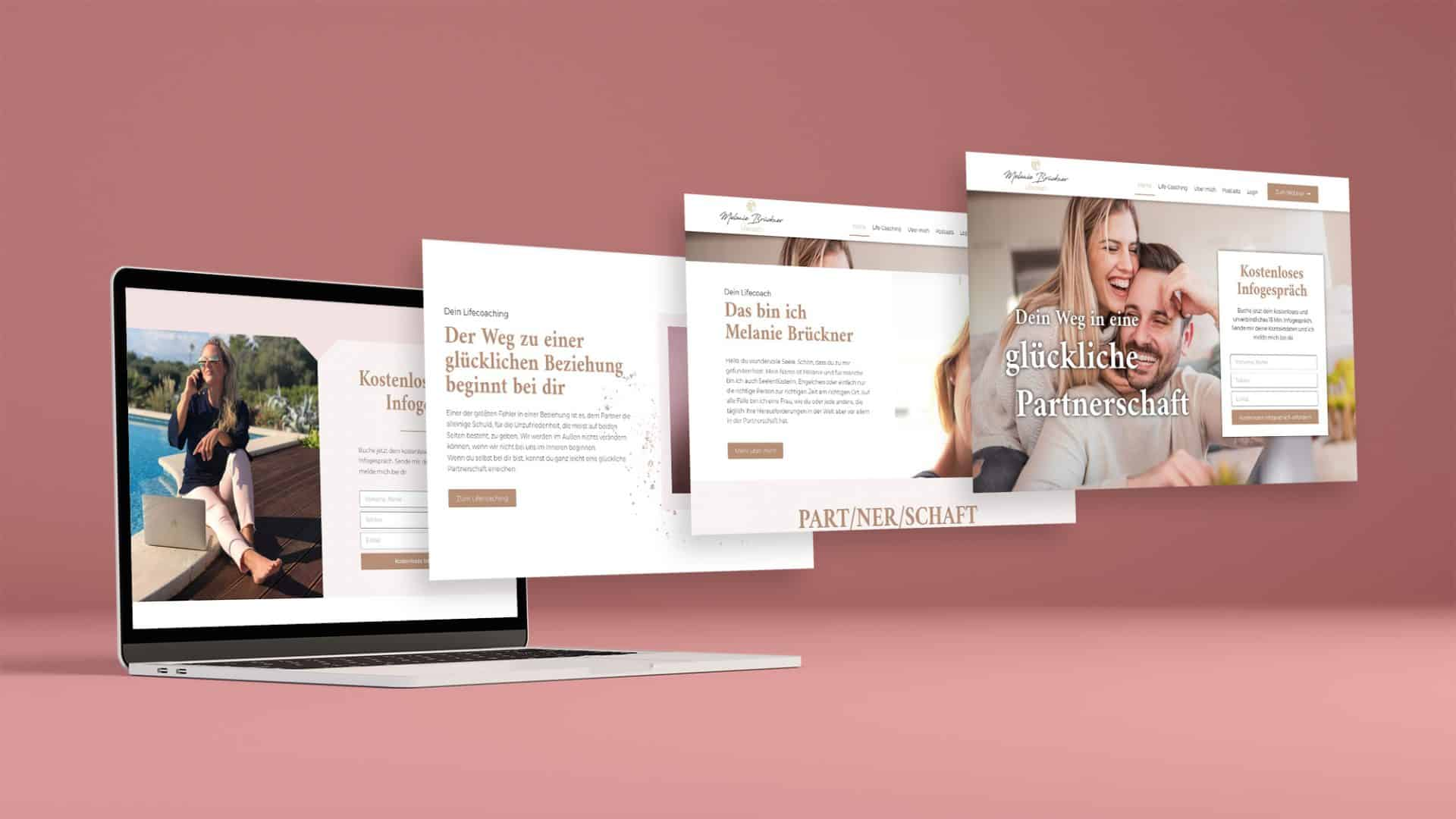 Website von Melanie Brückner Coaching