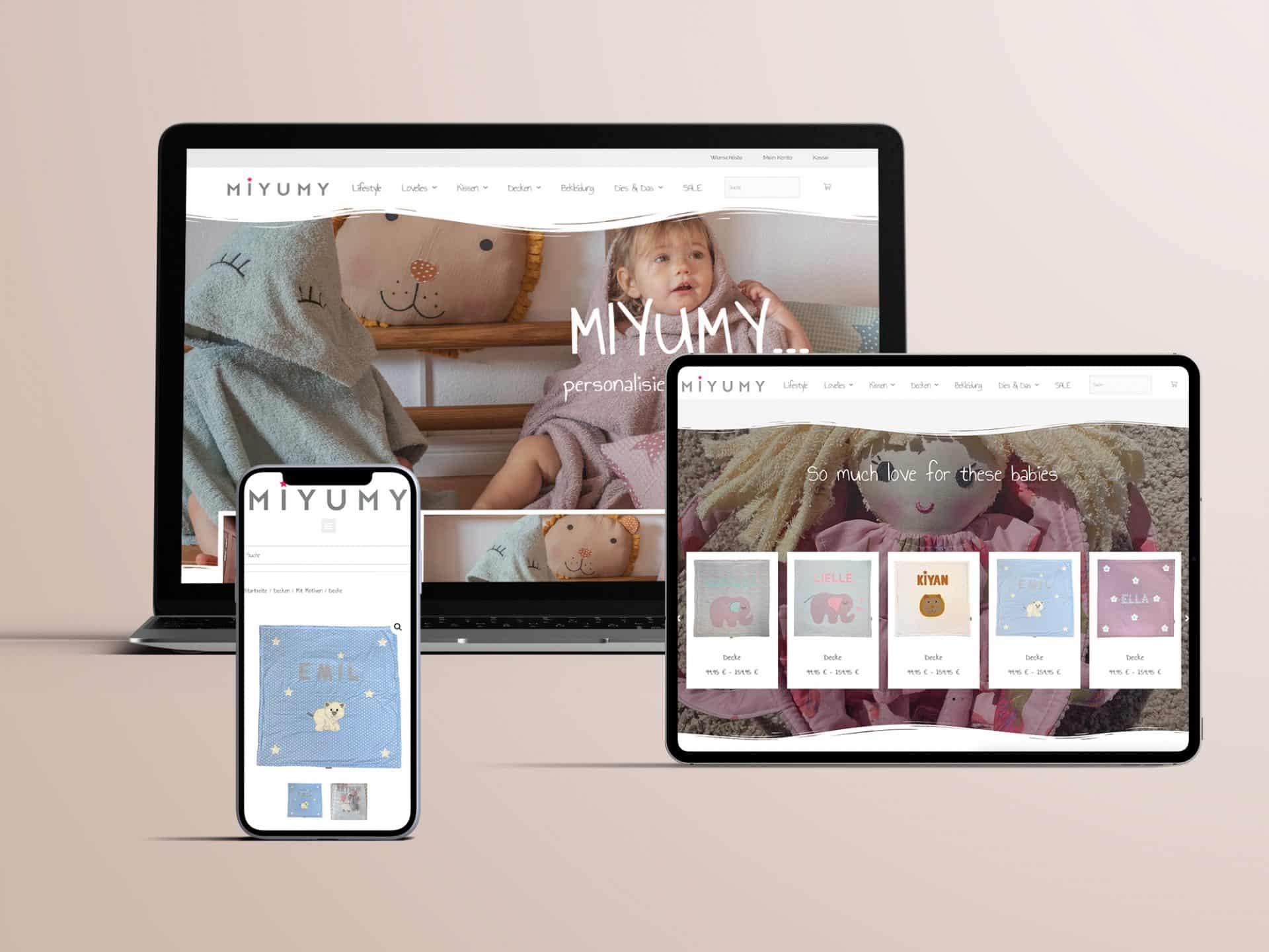 Miyumy - Webshop - Onlineshop